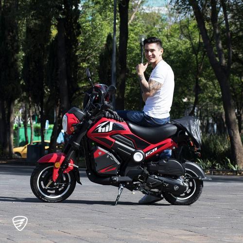 nueva bit150 italika una motocicleta tipo crossover