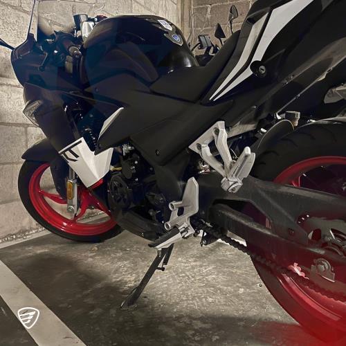 cómo subir a una moto italika