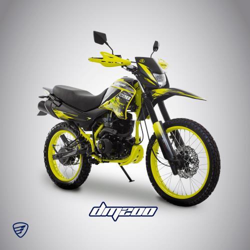tops motos italika dm200