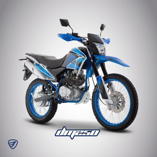 tops motos italika dm250