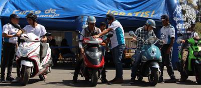 Cursos de manejo ITALIKA en la Semana de la Moto
