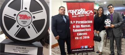 ITALIKA Perú, la marca que más creció en 2016