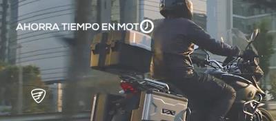 Trasládate en moto y ahorra tiempo