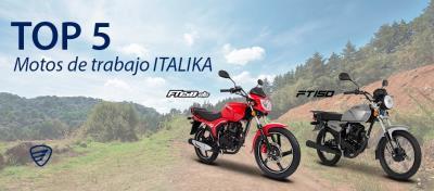 Top 5 motos de trabajo ITALIKA que debes conocer